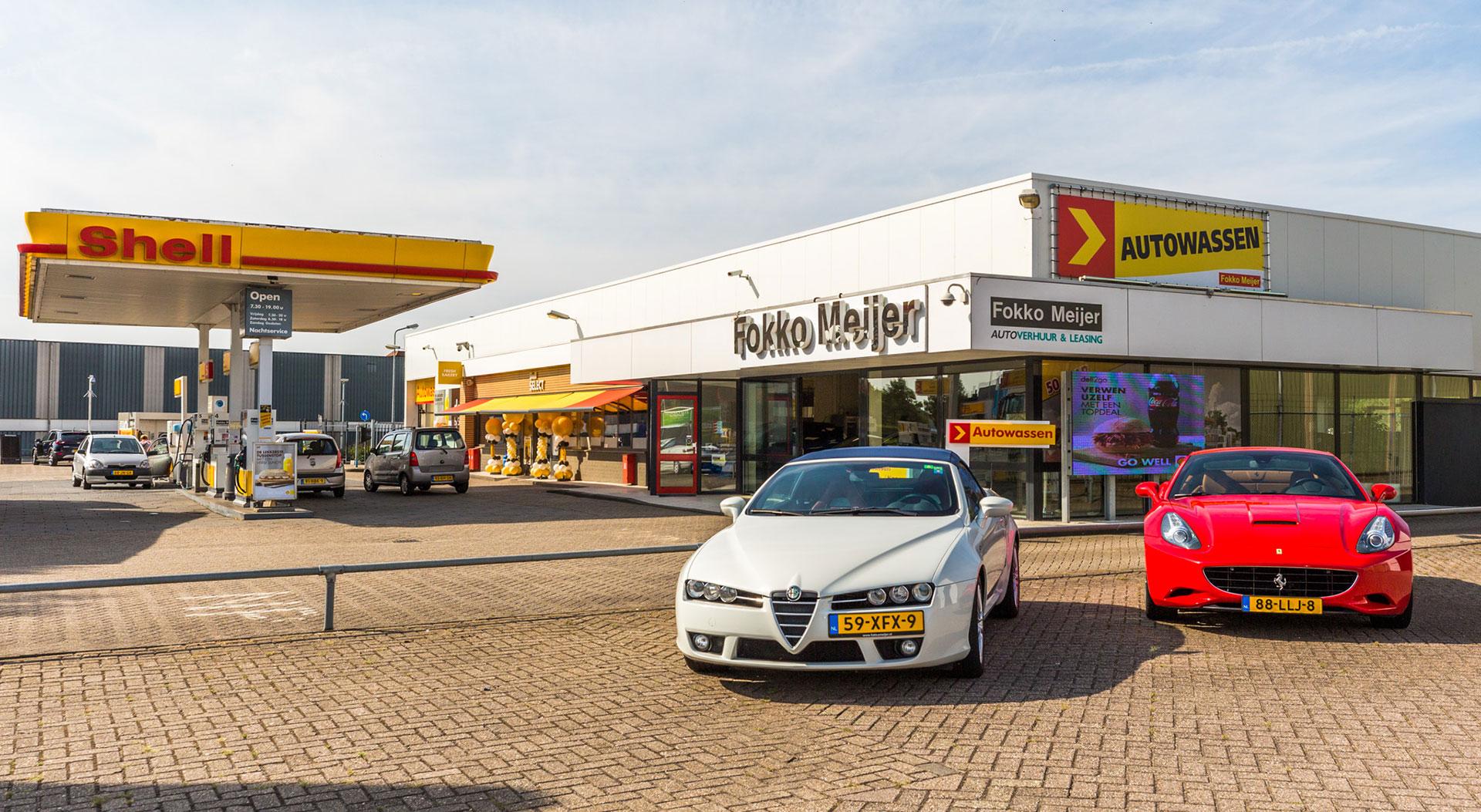 Shell tankstation Fokko Meijer Doetinchem